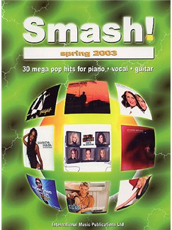 Smash! Spring 2003 Books | Piano, Voice, Guitar (Boxed Chord Symbols)