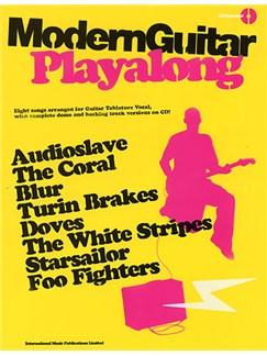 Modern Guitar Playalong Books and CDs | Guitar Tab