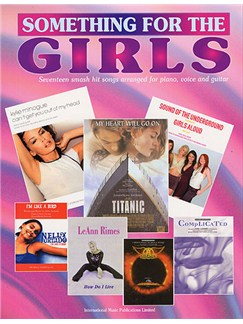 Something For The Girls Books | Piano, Voice & Guitar With Chord Boxes