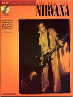 The Best Of Nirvana: Bass Signature Licks Books and CDs   Bass Guitar