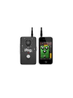 IK Multimedia: iRig STOMP - iOS Stompbox Guitar Interface  | Electric Guitar
