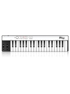 IK Multimedia iRig Keys Compact MIDI Keyboard Controller For IOS Devices Instruments |