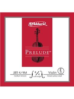 D'Addario: Prelude Violin Single E String - 4/4 Scale (Medium Tension)  |