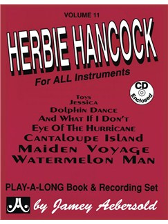 Jamey Aebersold Play Along Volume 11: Herbie Hancock Books and CDs | Melody Line (with Chord Symbols), Piano