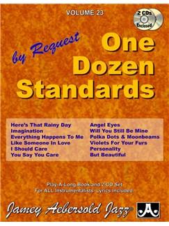 Aebersold Vol. 23: One Dozen Standards Books and CDs | Piano, Vocal, Guitar