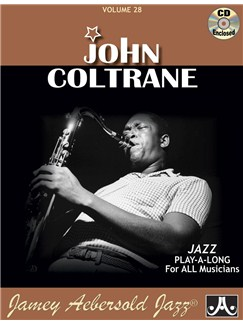 Aebersold Vol. 28: Giant Steps (John Coltrane II) Books and CDs | Piano, Vocal, Guitar