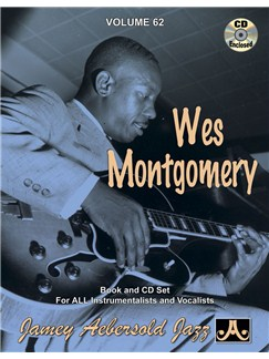 Wes Montgomery: Jamey Aebersold Jazz Volume Sixty-Two Books and CDs | Piano, Vocal, Guitar