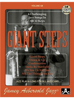 Aebersold Vol. 68: Giant Steps Books and CDs | All Instruments