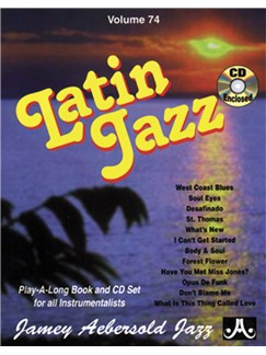 Aebersold Volume 74: Latin Jazz Books and CDs | Piano, Vocal, Guitar