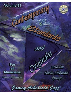 Jamey Aebersold Jazz Vol. 81: Contemporary Standards And Originals Books and CDs | Piano, Vocal, Guitar