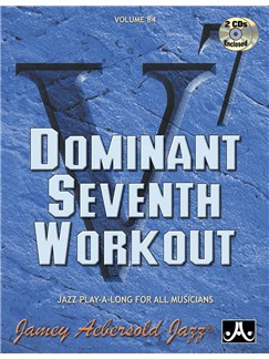 Aebersold Dominant 7th Workout Books and CDs | Piano, Vocal & Guitar