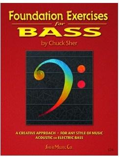Chuck Sher: Foundation Exercises For Bass Books | Bass Guitar, Double Bass