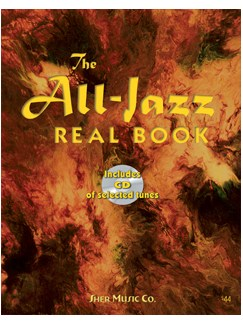 The All-Jazz Real Book: E Flat Edition (Book/CD) Books and CDs | E Flat Instruments