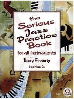 Barry Finnerty: The Serious Jazz Practice Book And CD Books and CDs | All Instruments