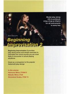 David Beecroft: Beginning Improvisation Book 2 Books and CDs   All Instruments