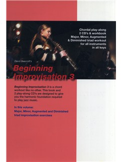David Beecroft: Beginning Improvisation Book 3 - Approaching Triads Books and CDs | All Instruments