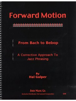 Hal Galper: Forward Motion Books |