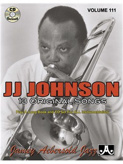 Jamey Aebersold Jazz Play Along: Volume 111 - J.J. Johnson Books and CDs | All Instruments
