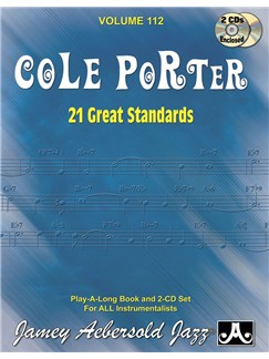 Jamey Aebersold Jazz Play Along: Volume 112 - Cole Porter Books and CDs | All Instruments