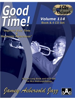 Jamey Aebersold Jazz Play Along: Volume 114 - Good Time! Books and CDs | All Instruments
