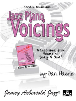 Dan Haerle: Jazz Piano Voicings - Transcribed From Volume 41 'Body And Soul' Books | Piano