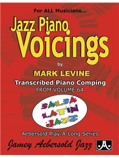 Mark Levine: Jazz Piano Voicings Volume 64 - Salsa Latin Jazz Books | Piano