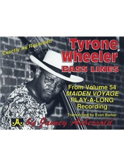 Aebersold Volume 54: Maiden  Voyage - Tyrone Wheeler Bass Lines Books | Double Bass