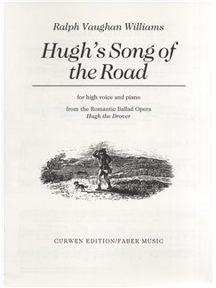 Ralph Vaughan Williams: Hugh's Song Of The Road Books | High Voice, Piano