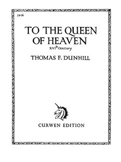 Thomas Dunhill: To The Queen Of Heaven Books | Voice, Piano