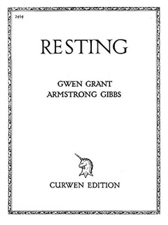 Cecil Armstrong Gibbs: Resting (Voice/Piano) Books | Voice, Piano Accompaniment