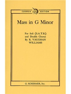Ralph Vaughan Williams: Mass In G Minor (Curwen Edition) Libro | SATB