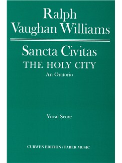 Ralph Vaughan Williams: Sancta Civitas Vocal Score Books | Soprano, Alto, Tenor, Bass, Piano