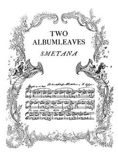 Smetana Two Albumleaves Piano  | Piano
