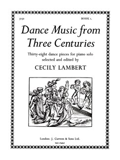 Dance Music From Three Centuries Book 1 Books | Piano