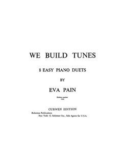 Pain, E We Build Tunes 8 Easy Piano Duet  | Piano