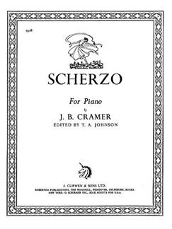 Cramer, J Scherzo Piano  | Klavier