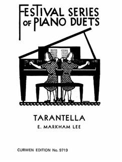 E. Markham Lee: Tarantella Piano Duet Books | Piano Duet