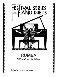 Thomas A. Johnson: Rumba - Piano Duet Bog | Klaver solo(Duet)