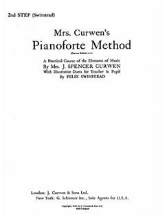 Mrs Curwen's Pianoforte Method 2nd Step (Swinstead) Books | Piano, Piano Duet