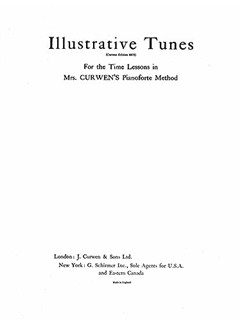 Mrs Curwen's Pianoforte Method Illustrative Tunes Books | Piano