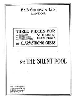 Armstrong Gibbs The Silent Pool (No.3 Of Three Pieces) Violion/Piano Books | Violin, Piano Accompaniment