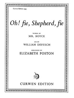 William Defesch: Oh! Fie, Shepherd, Fie (Voice/Piano) Books | Voice, Piano