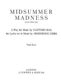 Armstrong Gibbs Midsummer Madness Satb/Piano (Vocal Score) Books | Satb, Piano Accompaniment