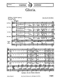 W.A. Mozart: Gloria (TTBB/Piano) - Welsh Text Edition Books | TTBB, Piano Accompaniment