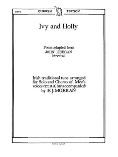 E. J. Moeran: Ivy And Holly Libro | TTBB, Coral