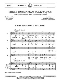 Matyas Seiber: Three Hungarian Folk-Songs TTBB Books | TTBB
