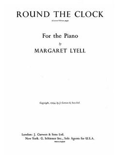Lyell, M Round The Clock Piano    Piano
