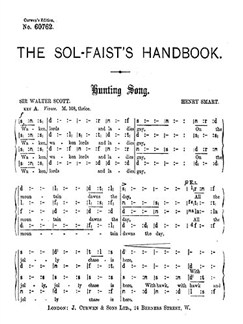 Henry Smart: Hunting Song (Tonic Sol-fa) Books | Soprano, Alto, Tenor, Bass