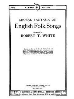 White English Folk Songs Satb  | Kor