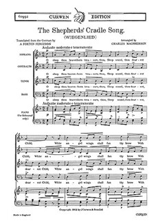 Macpherson, C The Shepherds' Cradle Song Satb/Piano  | Kor